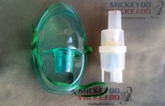 Распылитель небулайзера LD - конусный с маской ингалятора для взрослых