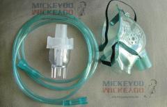 Распылитель ингалятора стандартный с маской и шлангом небулайзера