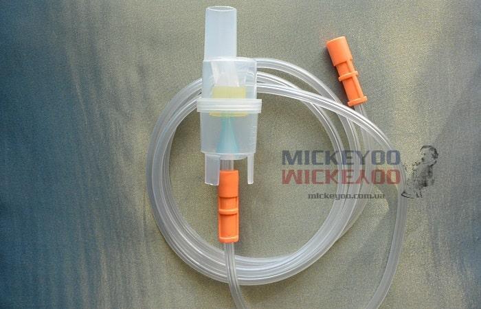 Распылитель ингалятора LD с шлангом воздушным 1,5 м  для небулайзера