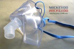 Маска інгалятора медична для дорослих прозора_1